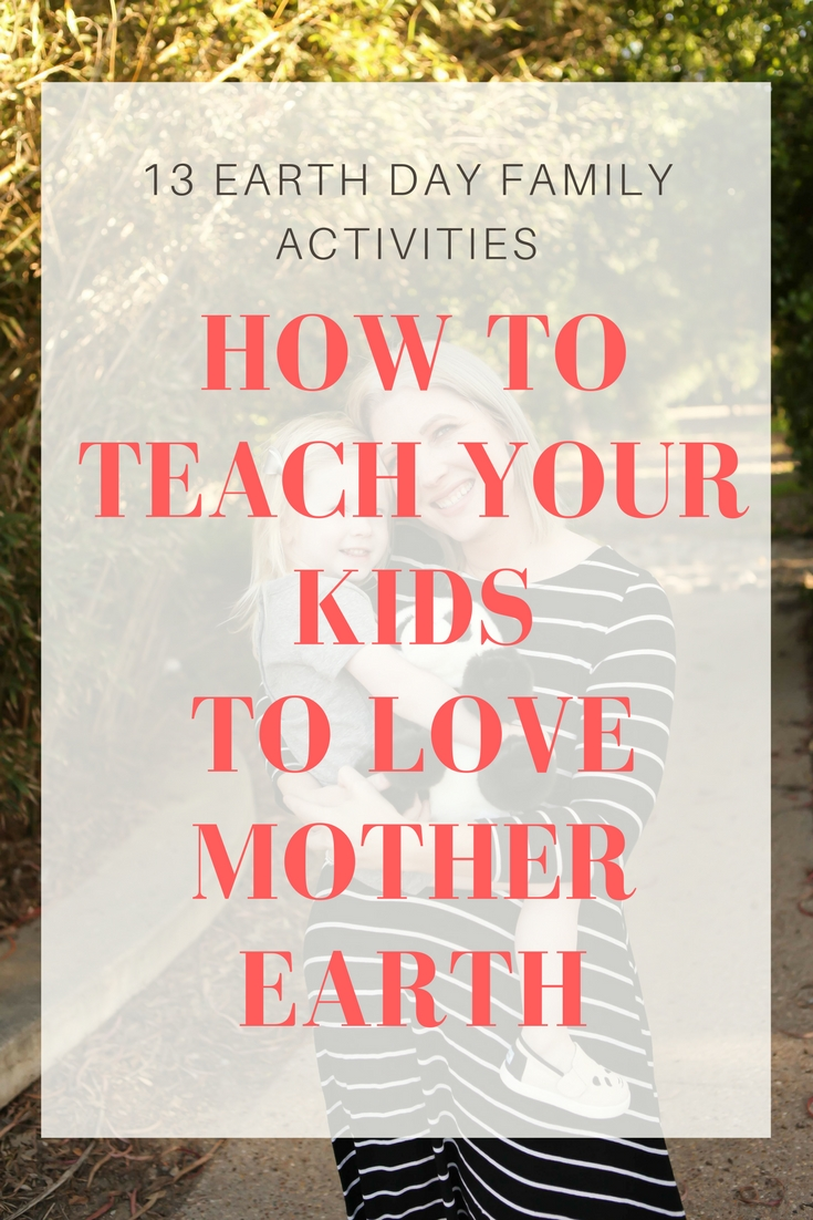 How to Teach Your Children to Love Mother Earth: 13 Earth Day Activities and Disneynature Born in China by lifestyle blogger Carly of Lipgloss and Crayons