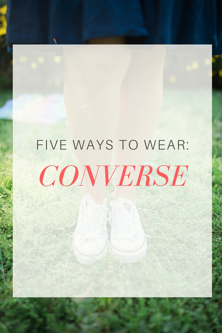 Who Wears Heels Anymore? 5 Converse Outfit Ideas That Will Change Your Life by LA lifestyle blogger Carly from Lipgloss and Crayons