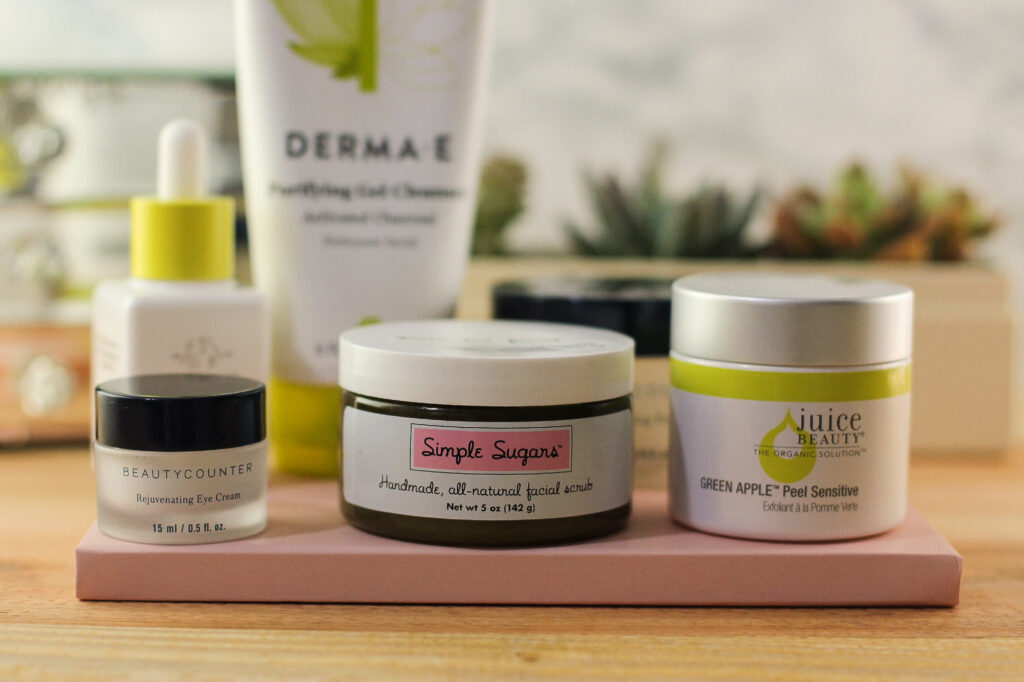 Going Clean, Green, and Toxin Free: A Natural Skincare Routine that Works by lifestyle blogger Carly from Lipgloss and Crayons