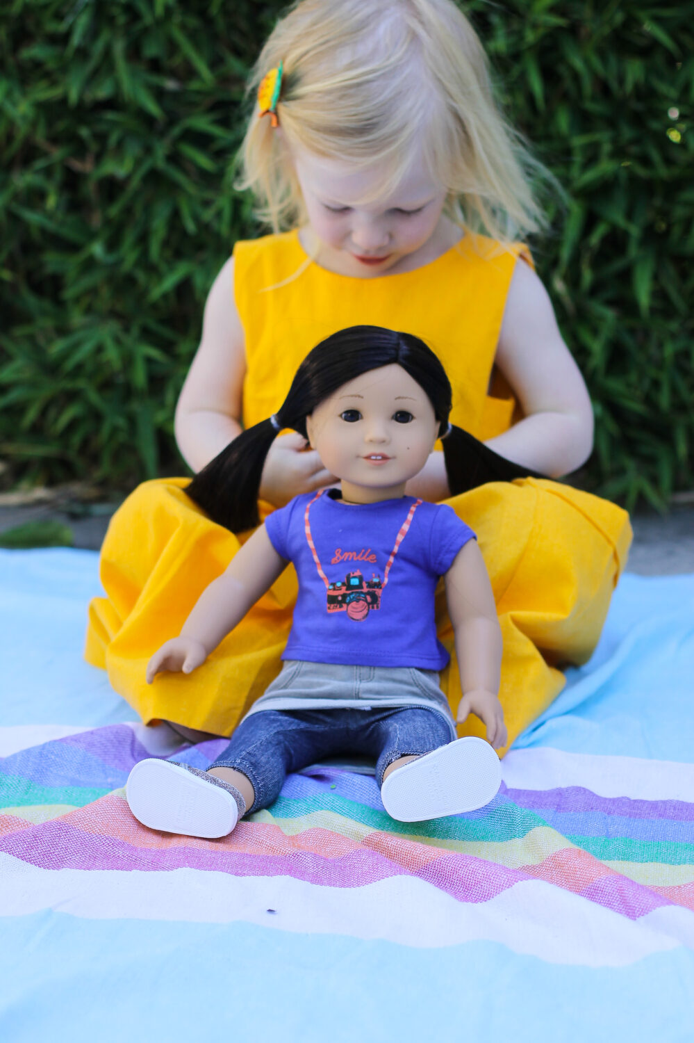 Z Yang: The New American Girl Doll by LA blogger Carly of Lipgloss and Crayons