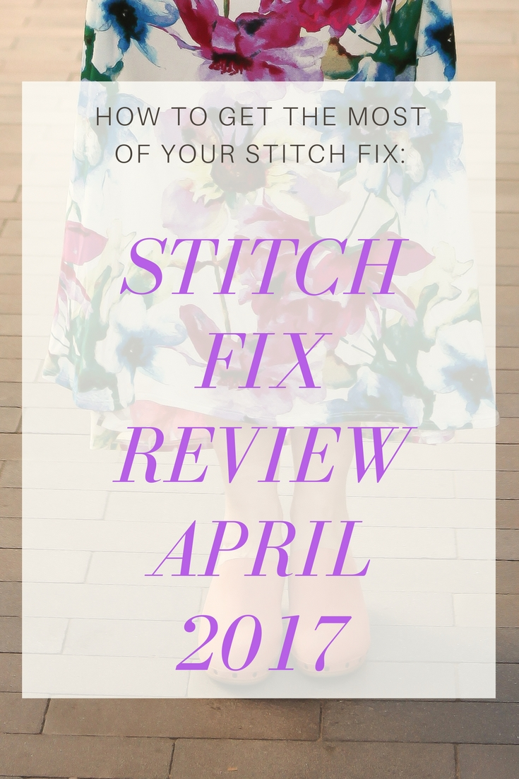 Stitch Fix Review April 2017 by fashion LA blogger Carly of Lipgloss and Crayons