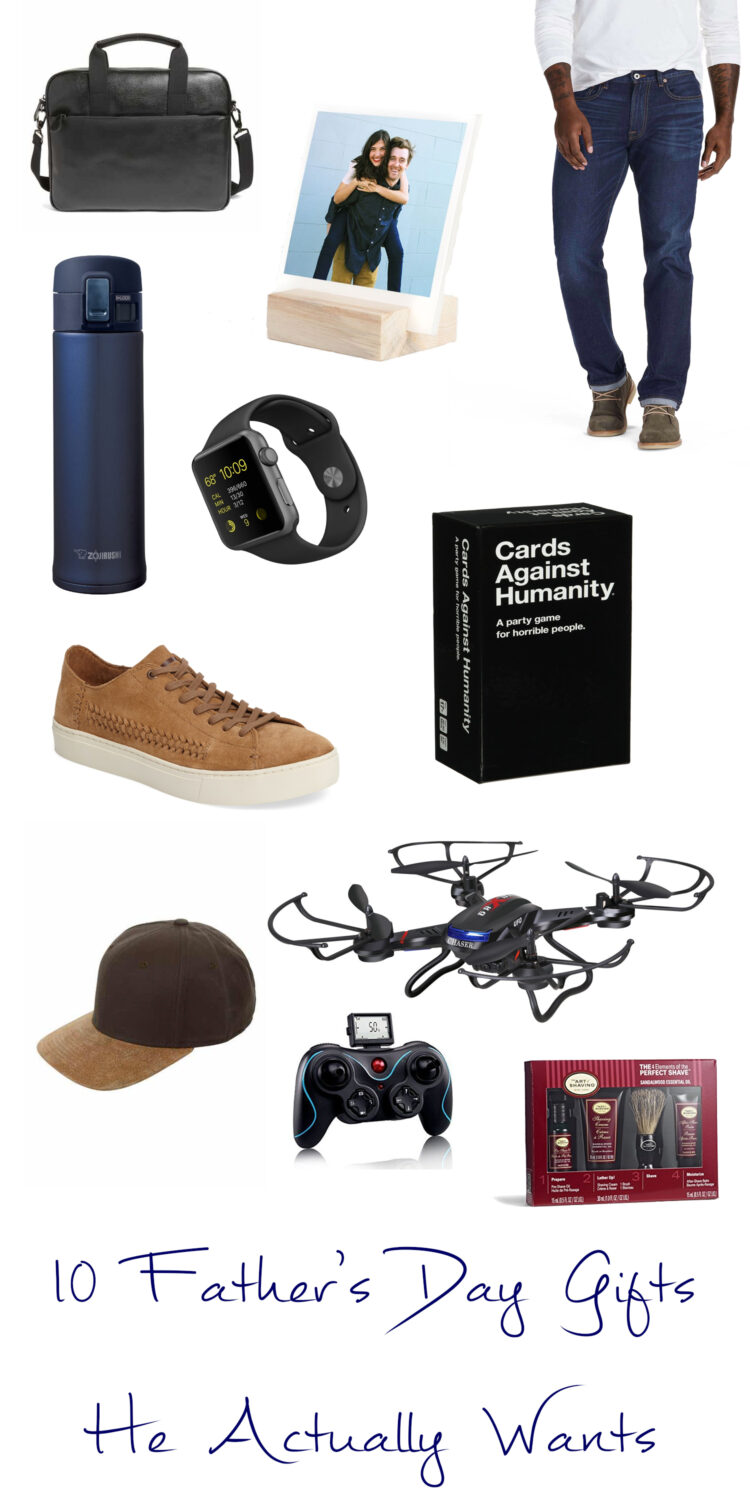 These 10 Father's Day Gifts are items that your husband will actually want, use, and be excited to receive!