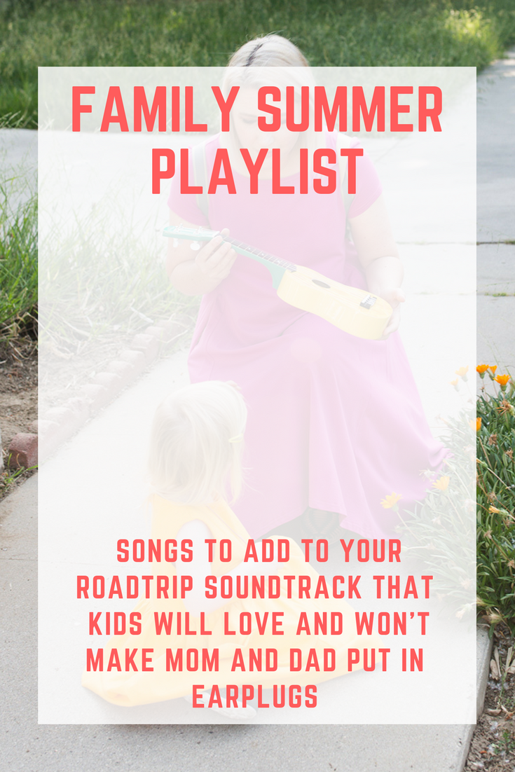 Gearing up for summer road trips? This family summer playlist is something everyone will love (and we're giving away the perfect summer travel bag)!
