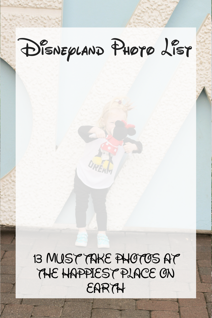 Heading to Disneyland? These are 15 do not miss pictures to take at Disneyland!