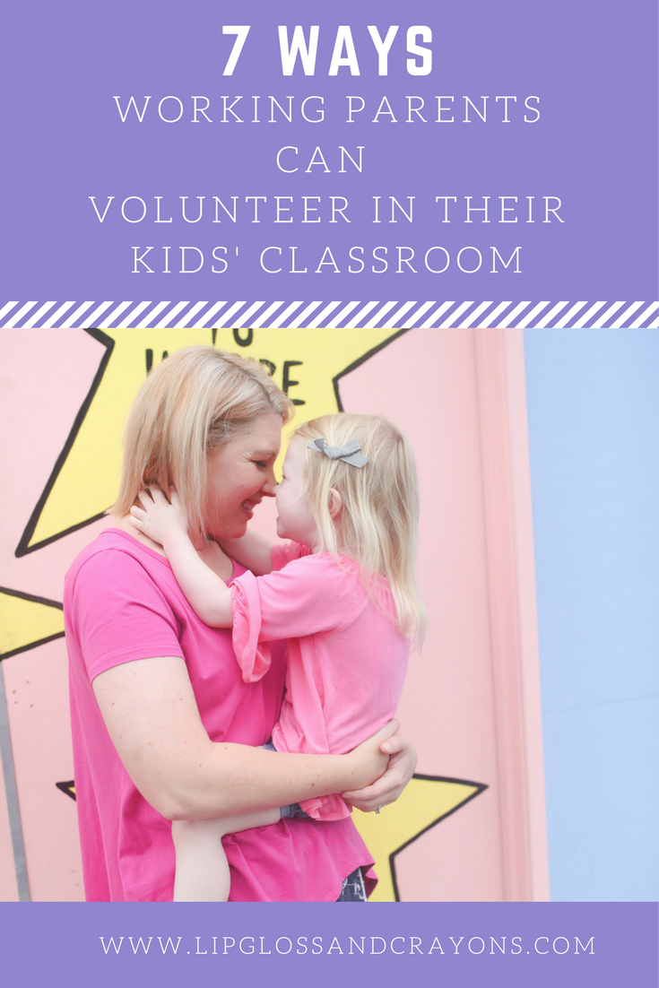 Gearing up for back to school? These classroom volunteer ideas for working parents will help you stay involved in your child's classroom!