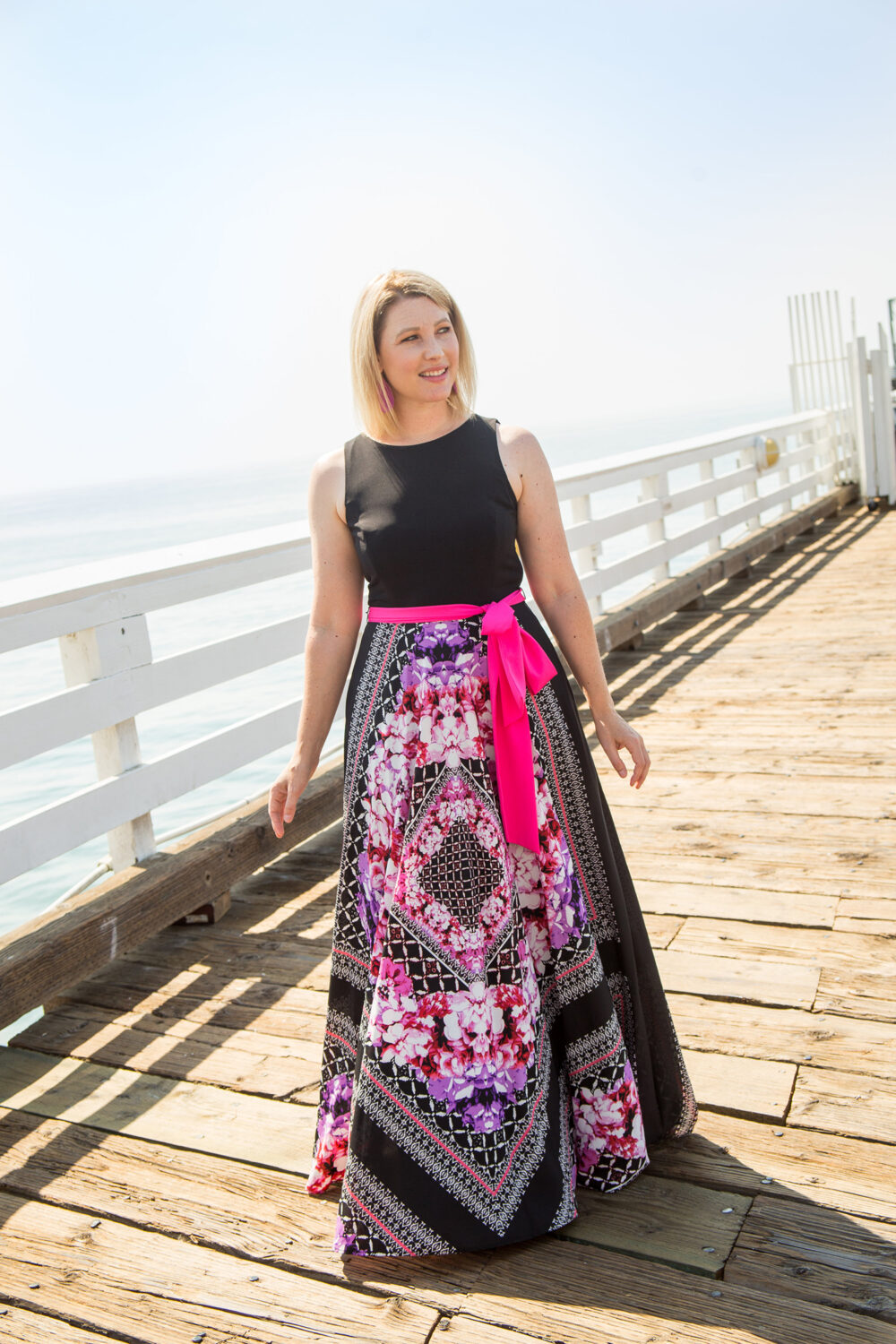 Trunk Club Review July 2017: this eliza j maxi dress is the perfect summer casual outfit base!
