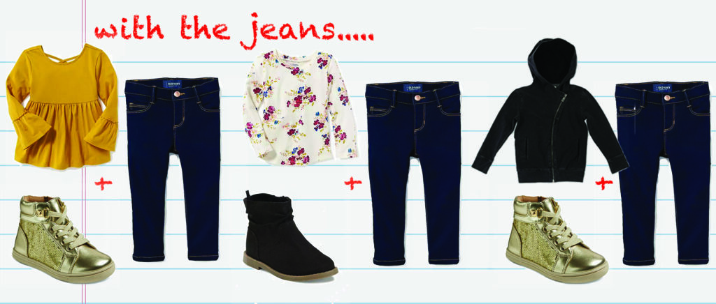 Preschool Capsule Wardrobe  Back to School Outfits - Lipgloss and ... dddea0a29d