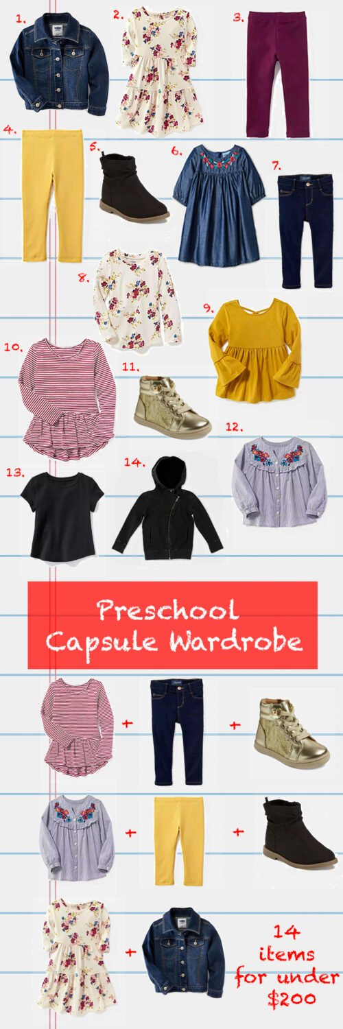Back to School Outfits  This Back to School Capsule Wardrobe costs under   200 + creates b79af81d2e