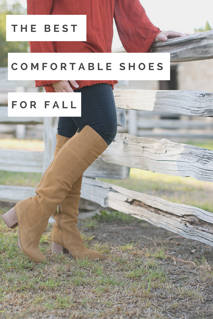 Gearing up for fall? These comfortable shoes are must owns, and perfect for fall outfits!