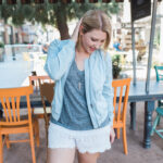 Fall Shorts for a Pear Shaped Body