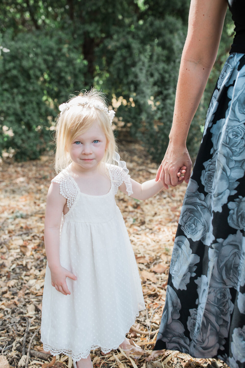 Looking for wedding outfit ideas? This bohemian flower girl dress is just adorable!