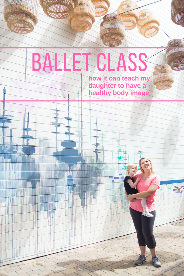 Toddler Ballet Class: From toddler dancewear to that first recital....how it can teach your daughter to have a healthy body image.