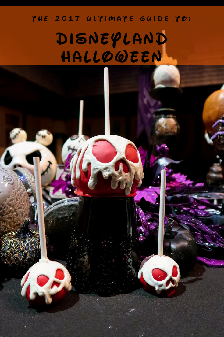 Heading to the Happiest Place on Earth? Check out the Ultimate Guide to Disneyland Halloween 2017 for must sees, must rides, and must eats!