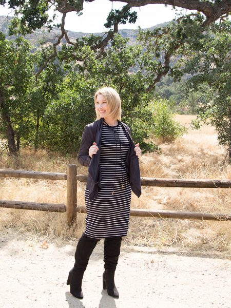 Transitioning to Fall: How to Style a Black T Shirt Dress