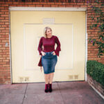 The Best Denim Pencil Skirt for a Pear Shape Body