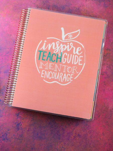 Erin Condren Teacher Lesson Planner