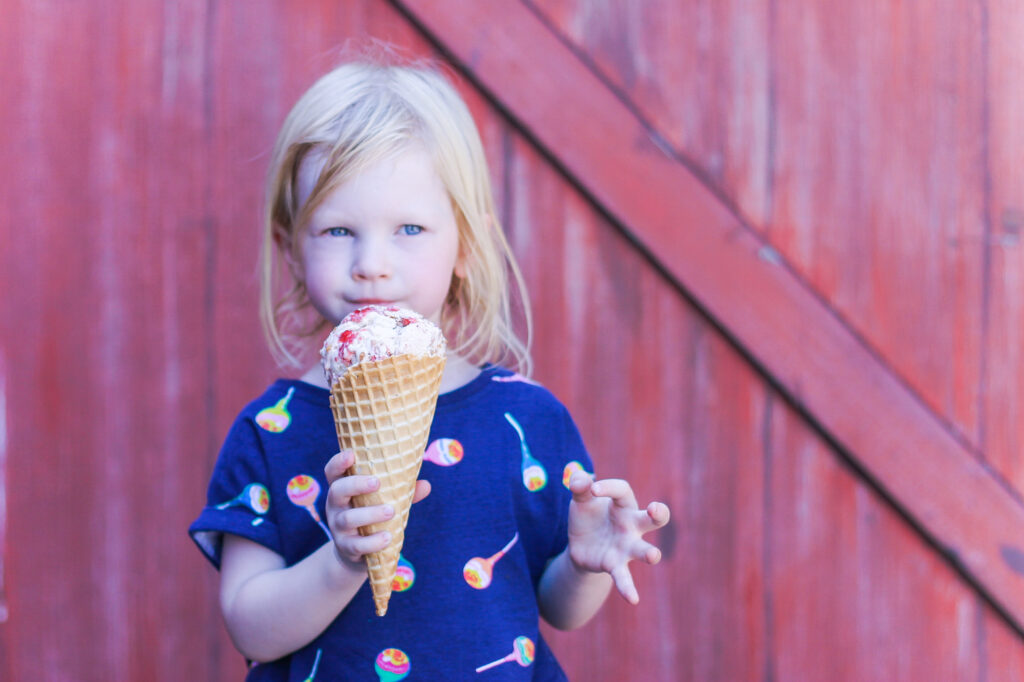 The best fair food? Afters Ice Cream!