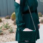 Holiday Dresses: Cold Shoulder Dress