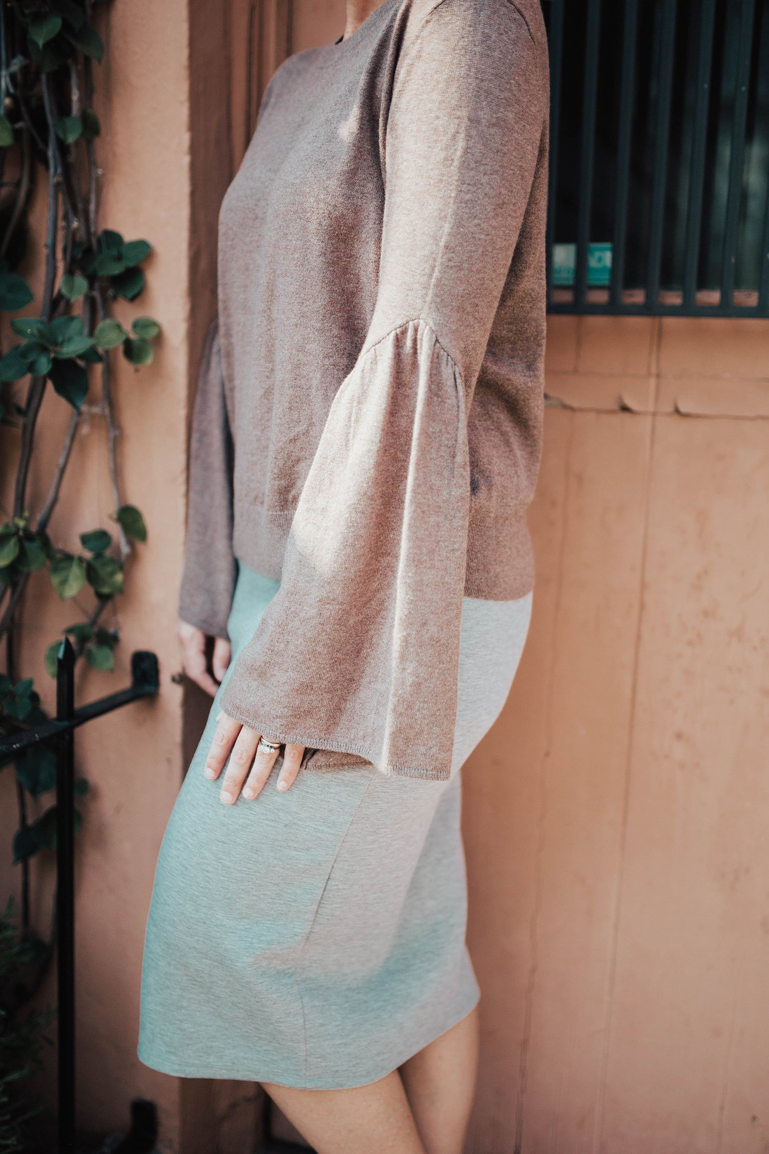 Trunk Club: This bell sleeve sweater is the perfect transitional piece from this clothing subscription box!