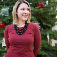 Holiday Dresses: Red Christmas Dress