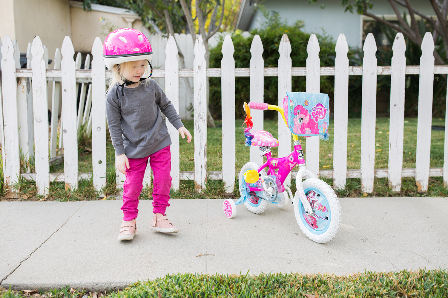 Training Wheels: How to teach riding a bike