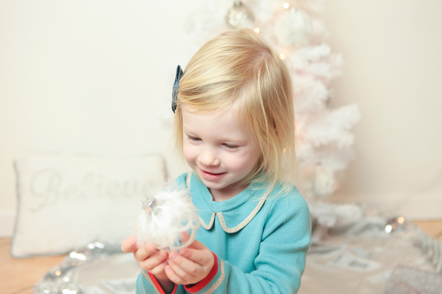Looking for a little holiday magic? I love this princess kids christmas tree!