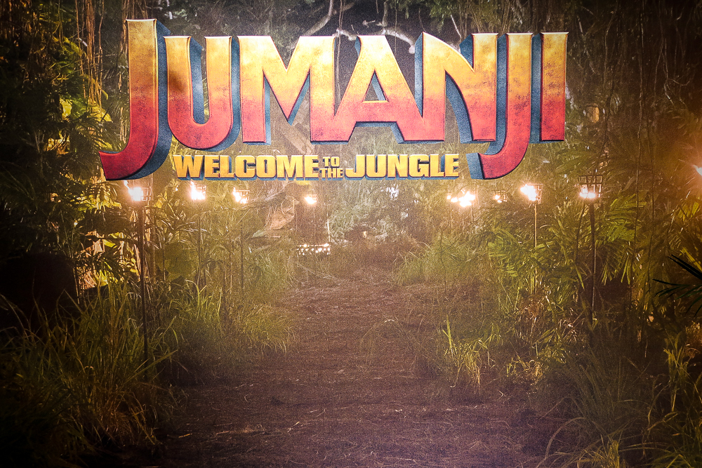 Jumanji: Welcome to the Jungle Press Junket