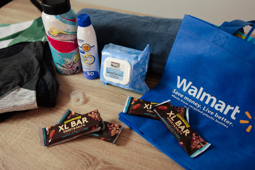 Working on a new workout regime? Me too.  I'm sharing my gym bag essentials........