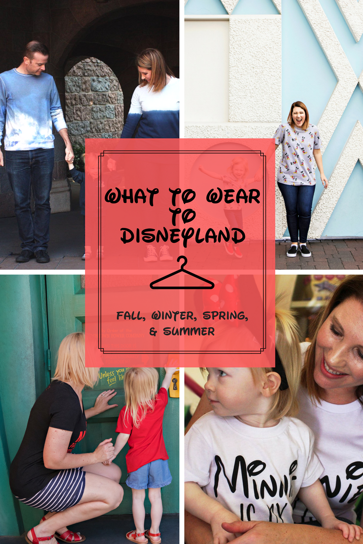 Looking for the perfect Disneyland outfits? Pin this to remember what to wear to Disneyland by season!