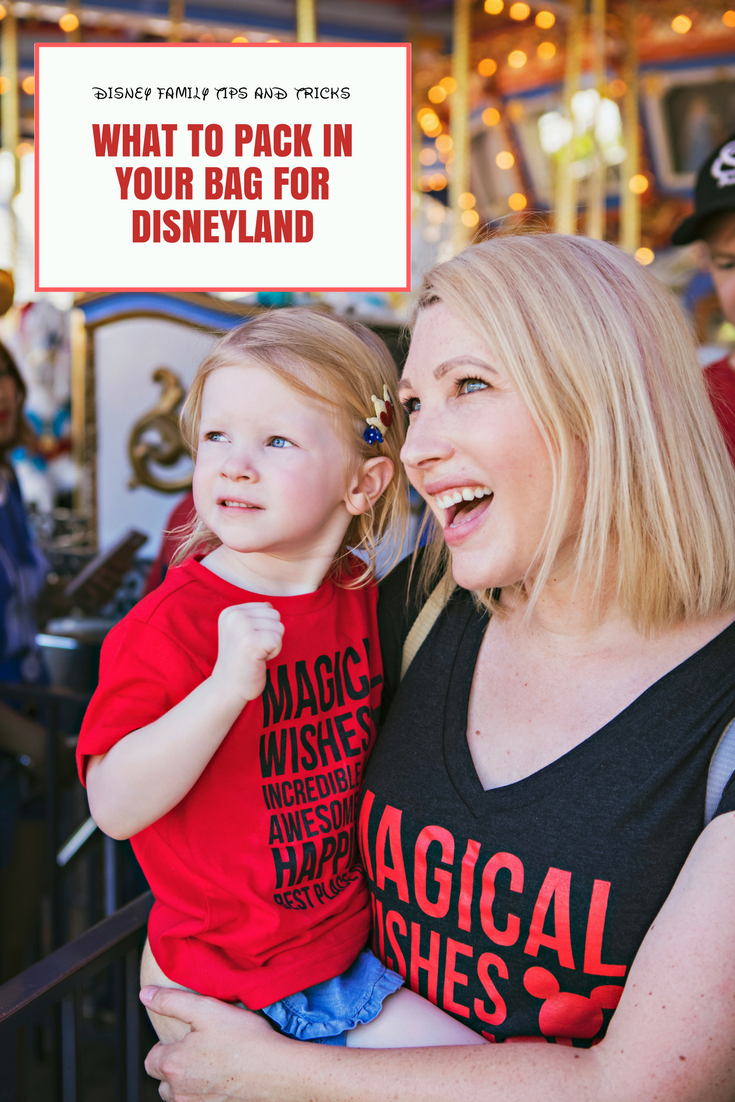 Trying to get your Disney Packing List together? Lifestyle blogger Lipgloss & Crayons shares her must haves for Disneyland trips!