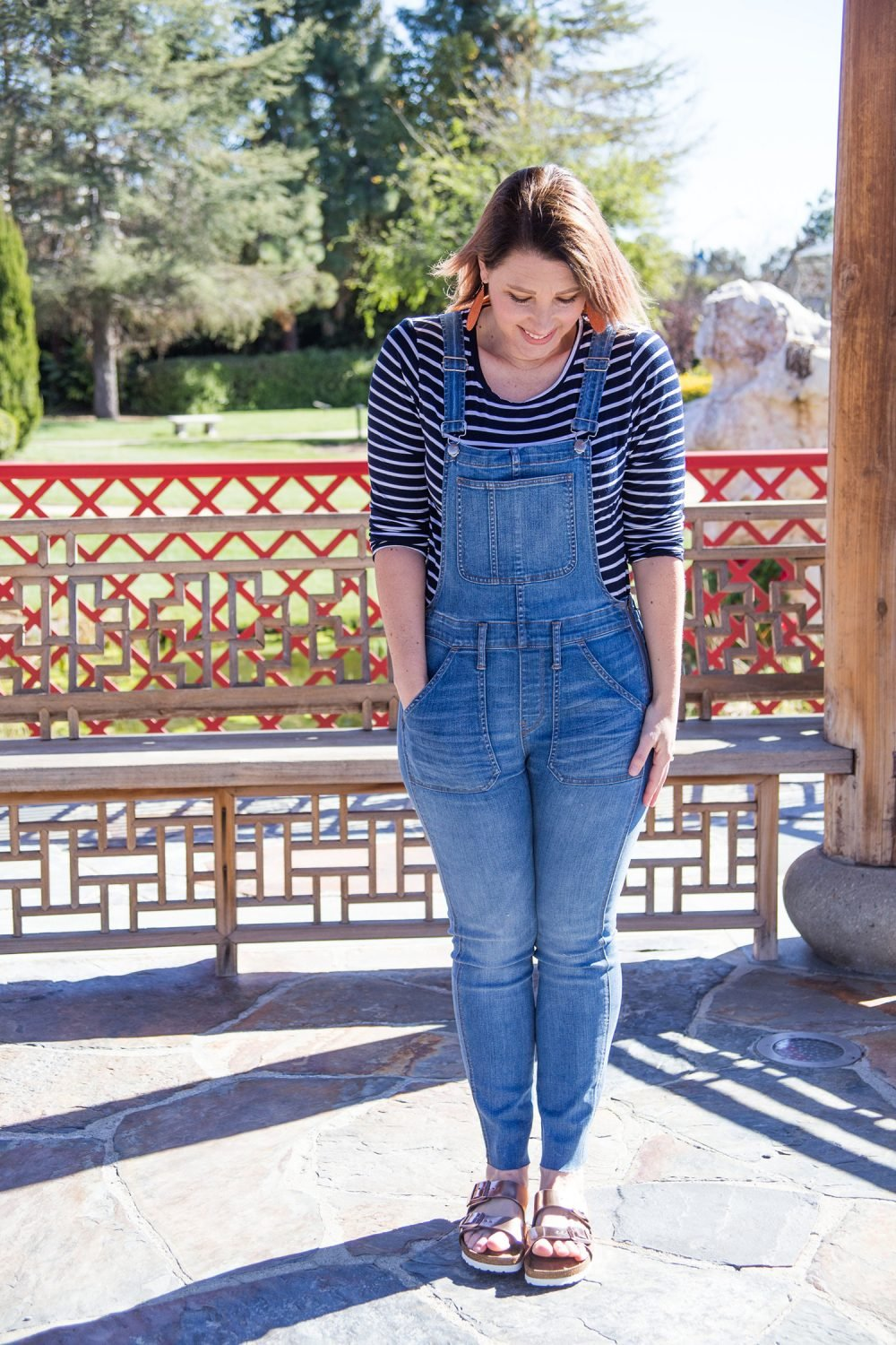 2f06c66c3bf Spring Outfits Must Own Pieces  These overalls are spring requirements for  a pear shaped body