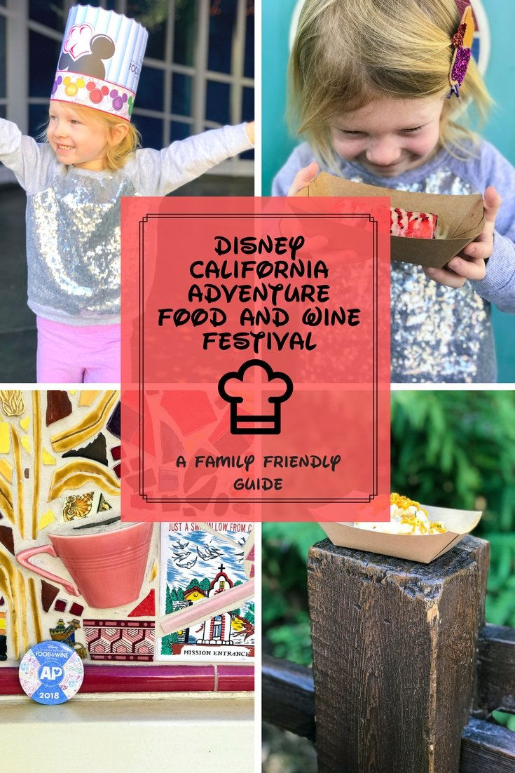 Want to visit the Disney California Adventure Food and Wine Festival with your family? We're sharing our favorite treats and activities to enjoy with your kids in tow!