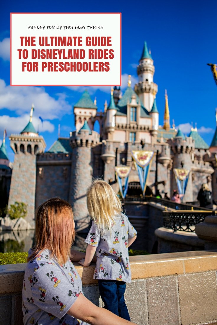 Planning a trip to Disneyland? This ultimate guide to Disneyland rides (and California Adventure rides) for preschoolers is a must read (and there's even a file to save on your phone for easy reference)!
