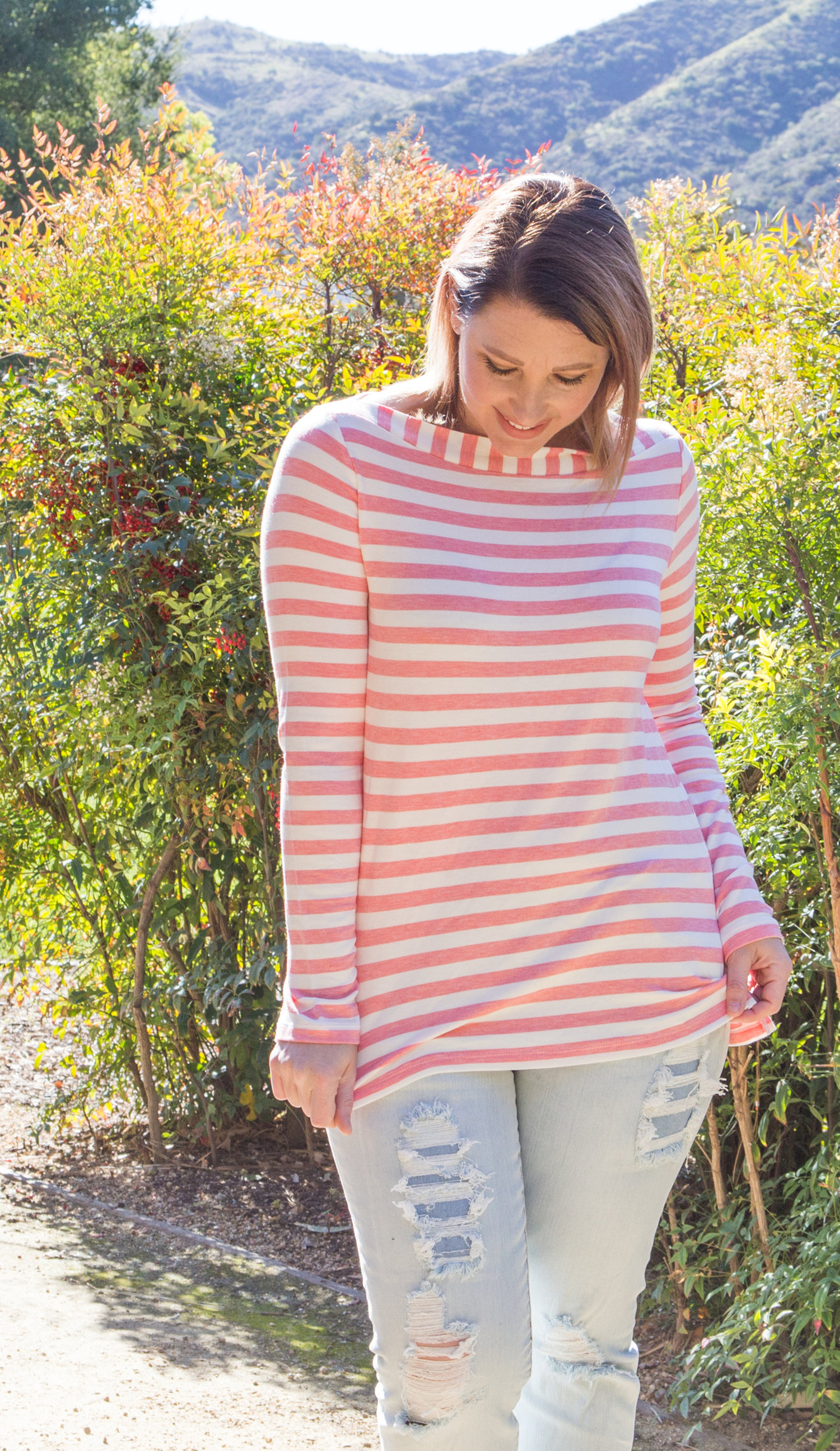 Stitch Fix Review March 2018: Pin this 41 Hawthorn Heskett Boatneck Knit Top to request it in YOUR fix!