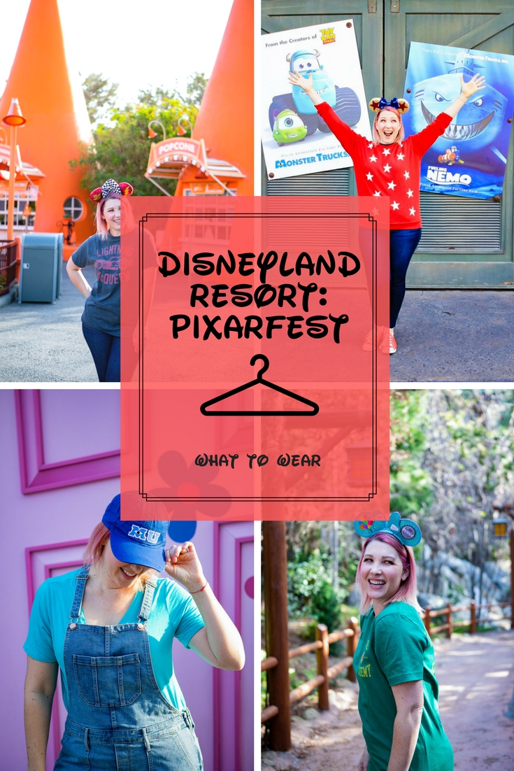 Looking for the perfect Disneyland outfits to wear to Pixarfest? I'm breaking down what to wear to Disneyland Pixarfest by movie, and sharing my must haves for fun days at this summer's celebration!