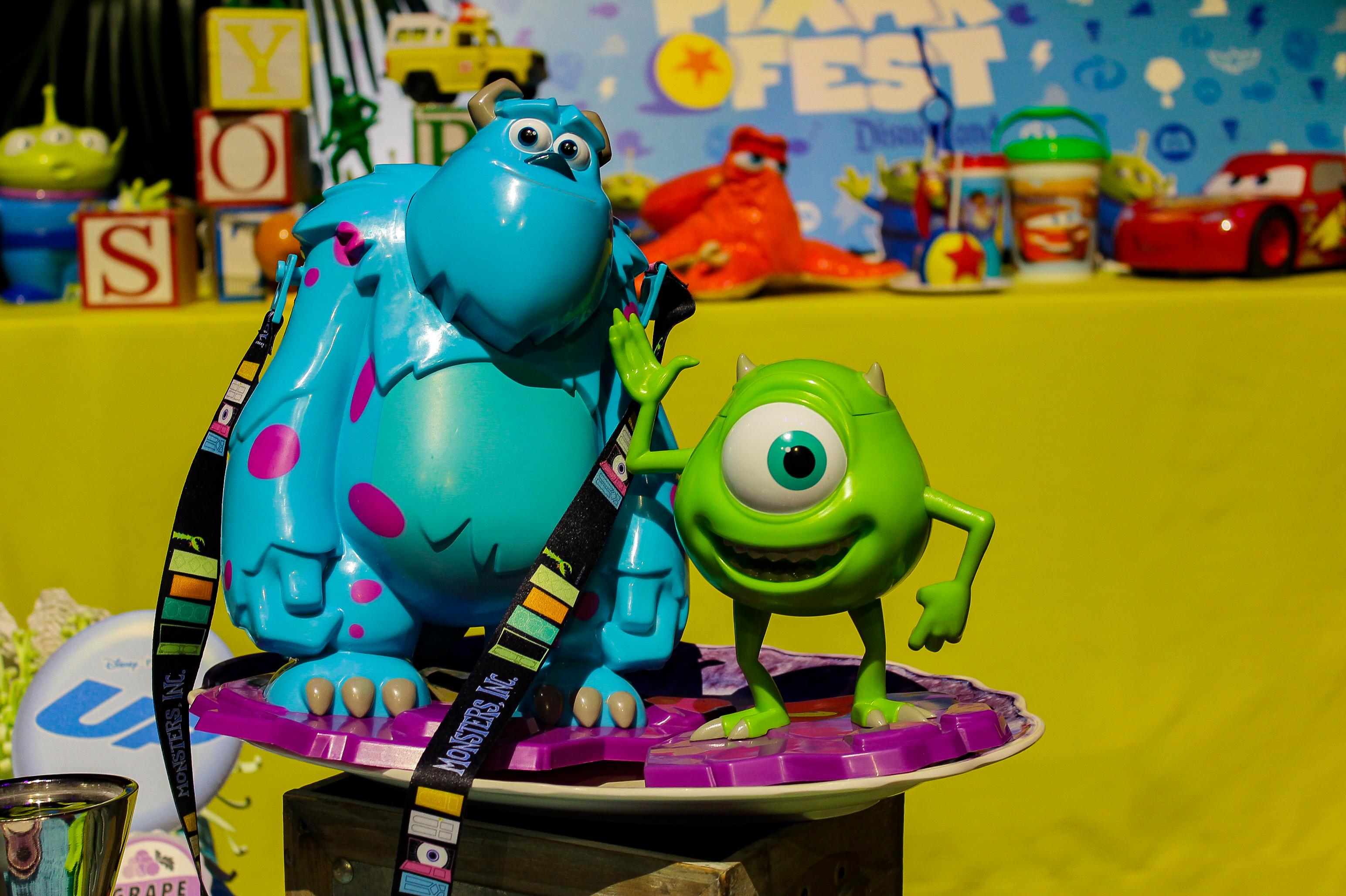 Disneyland Pixarfest: Sulley Popcorn Bucket