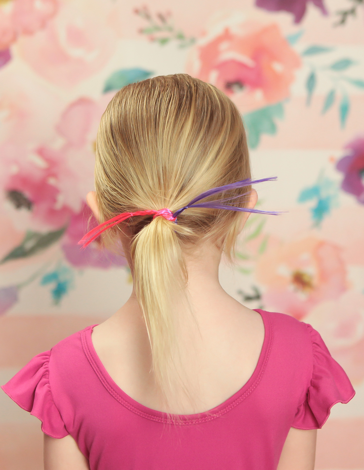 Struggling with toddler hairstyles? These 5 easy ponytails are perfect for even the most hair challenged parents!