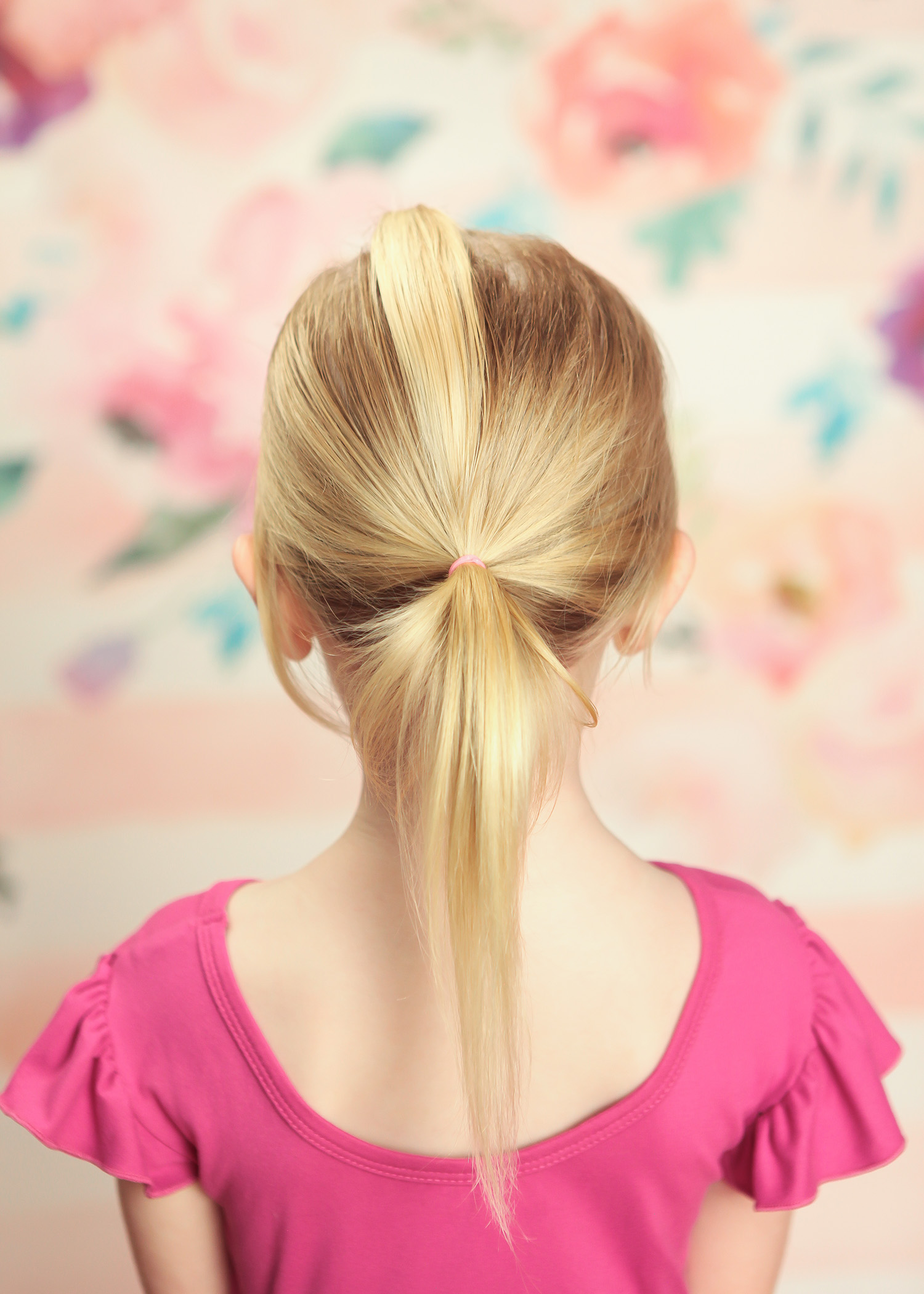 Toddler Hairstyles: This Double Ponytail is SUPER easy!