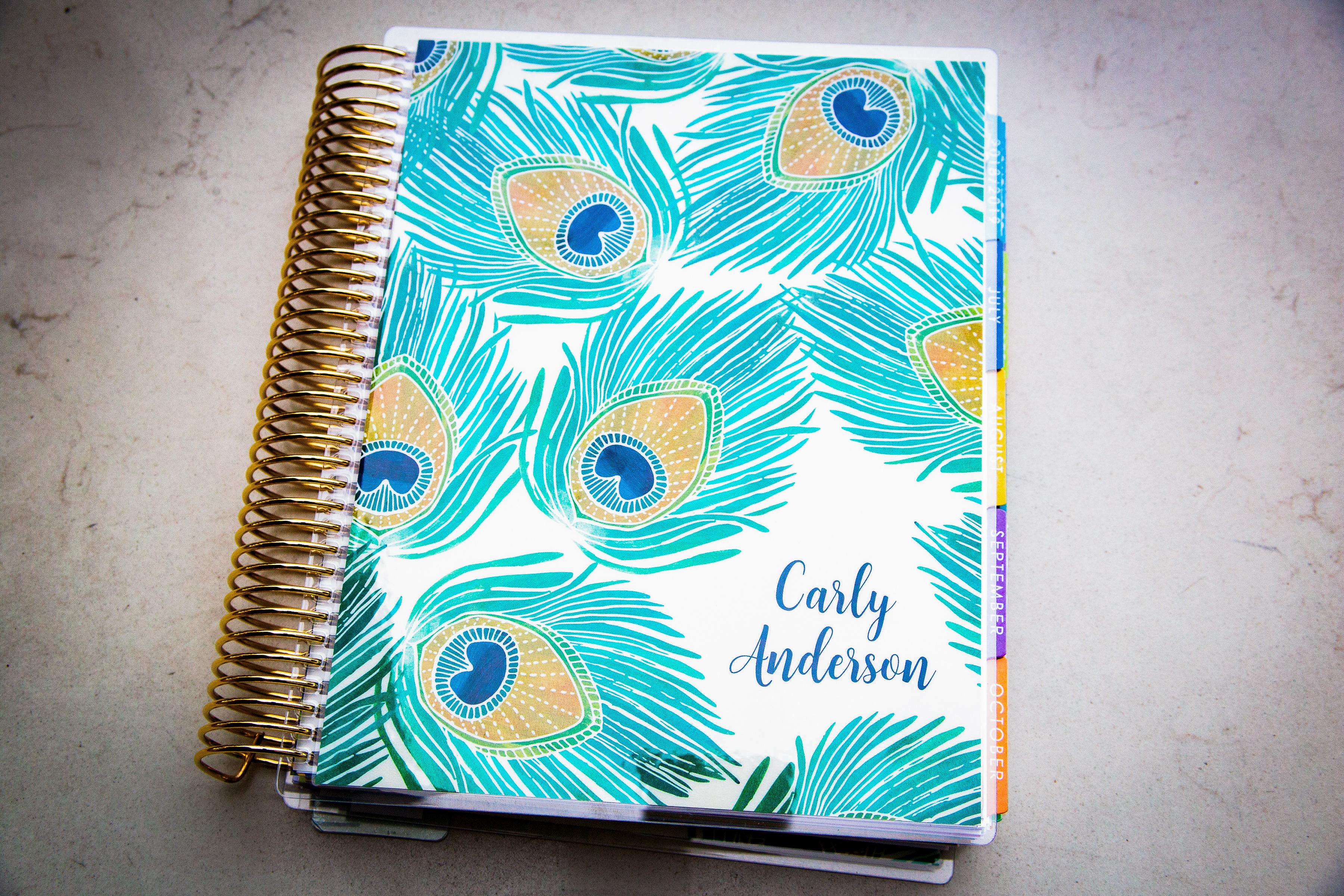 Erin Condren Life Planner: New 2018 cover