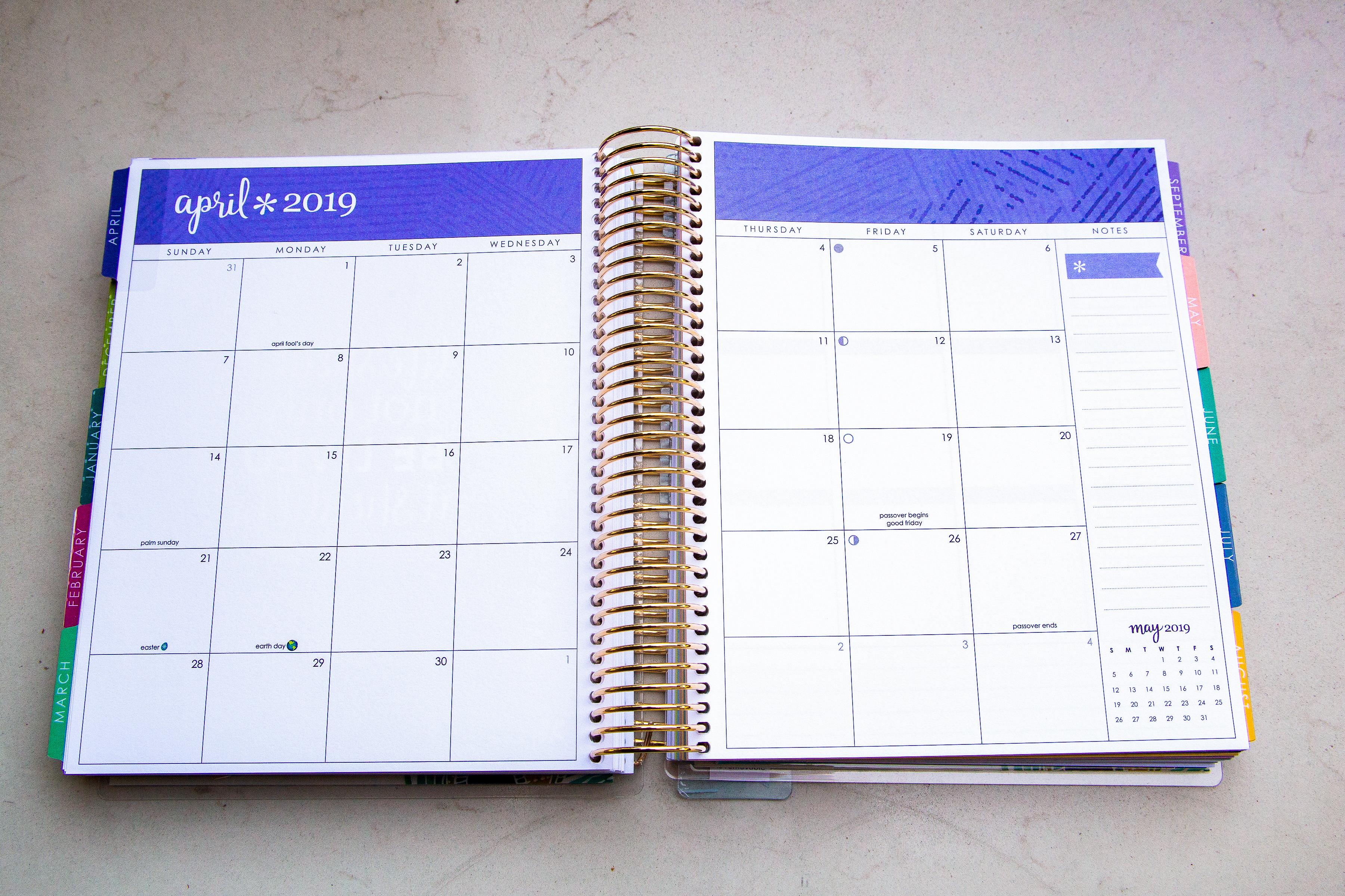 Erin Condren Life Planner: New Layout