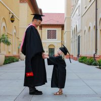 He Did It: A Letter to My Husband for His Graduation