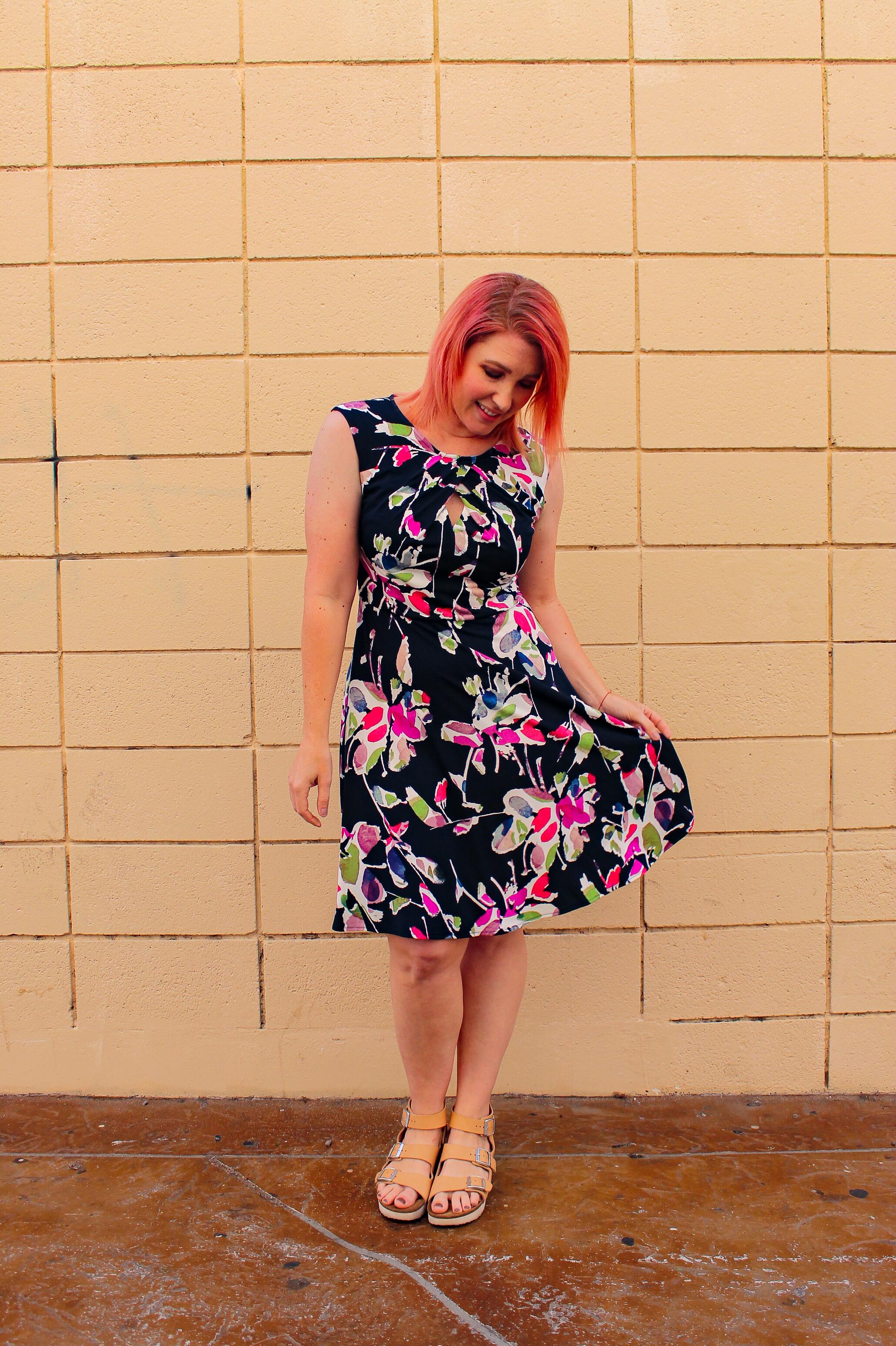 Stitch Fix Review June 2018: Isn't this Wisp Ceena Jersey Dress ADORABLE?