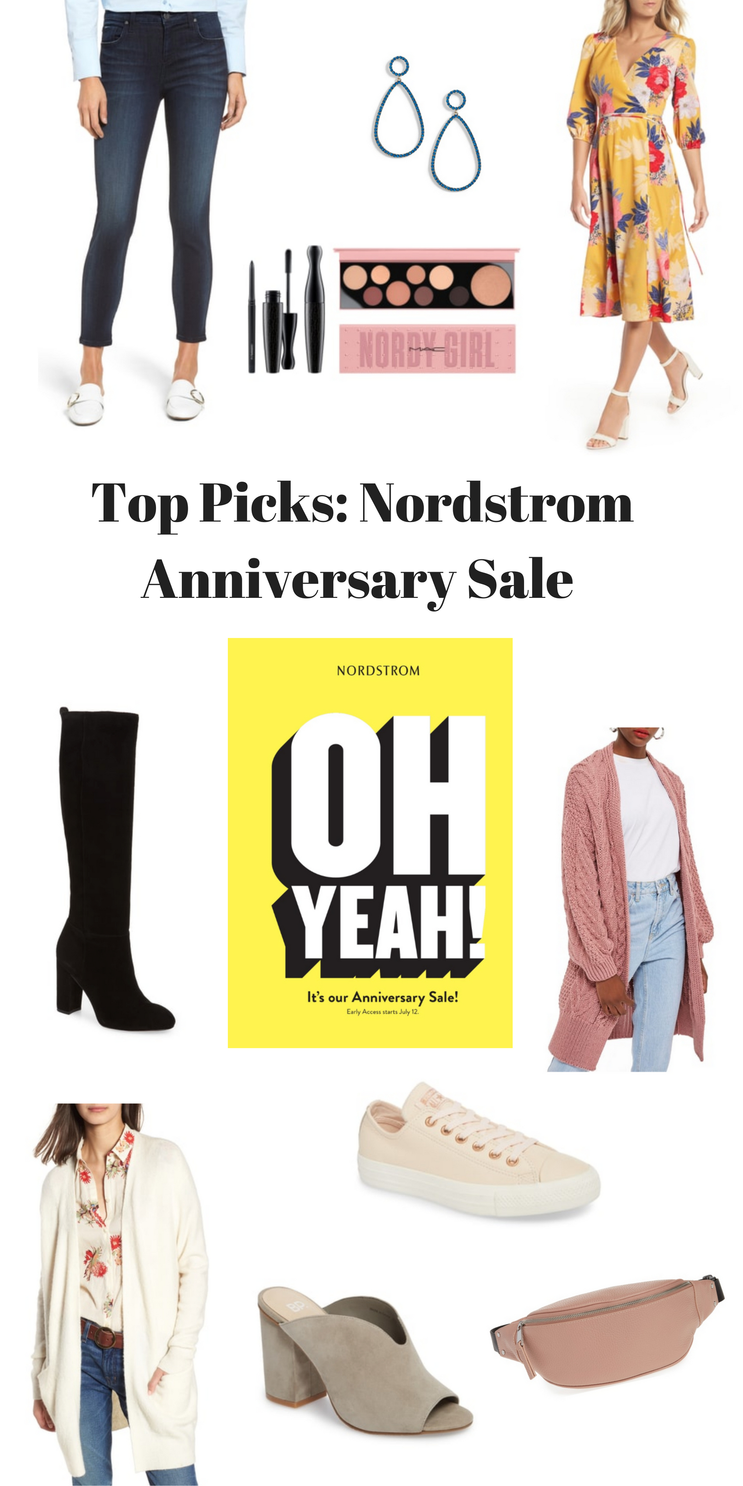 Get ready, the Nordstrom Anniversary Sale 2018 is approaching! I scoured the Sale Catalog, and I'm sharing my top ten picks, so that you're prepared!