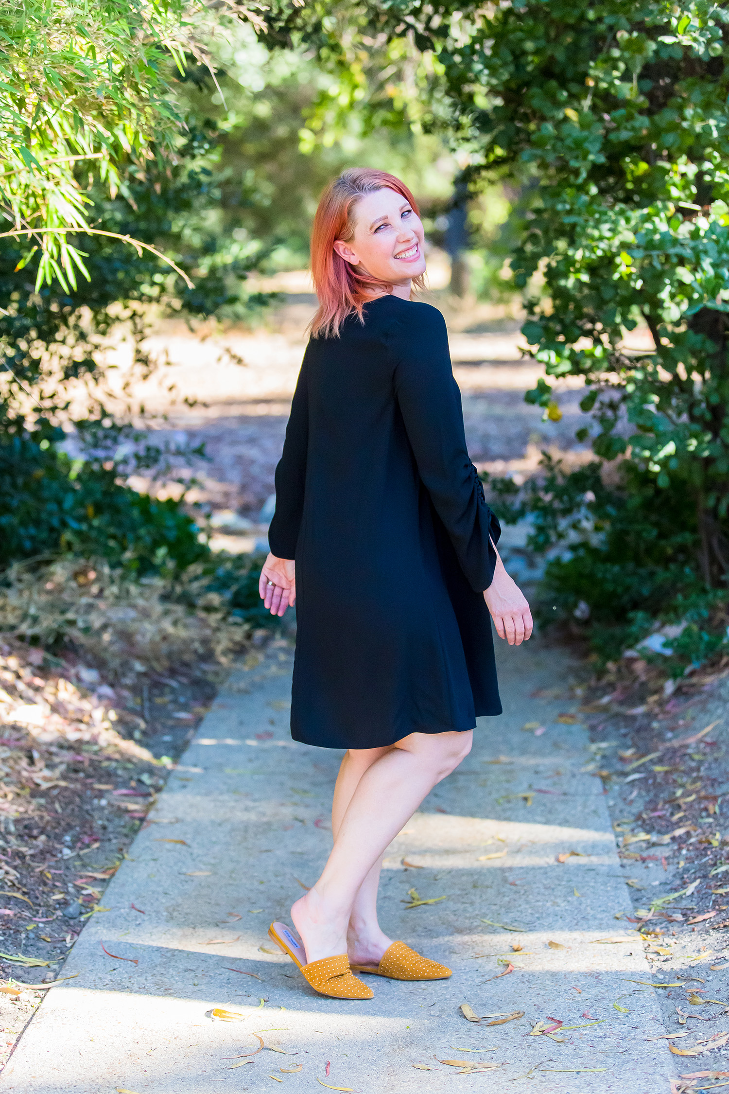 Fall Outfits: This little black dress is PERFECT for fall layering!