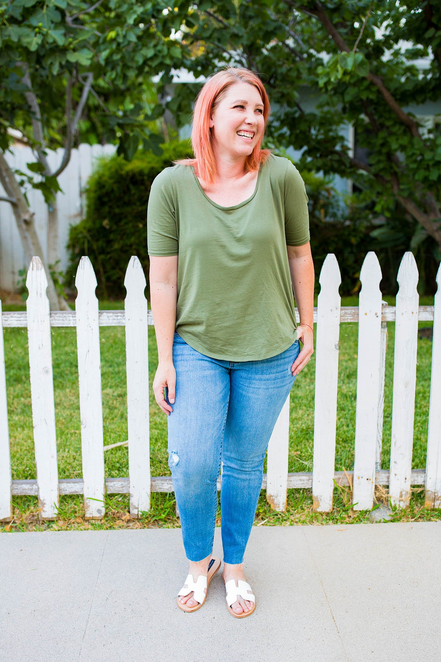 Nordstrom Anniversary Sale 2018: Fall outfits time is HERE, and these light colored jeans are a GREAT price!