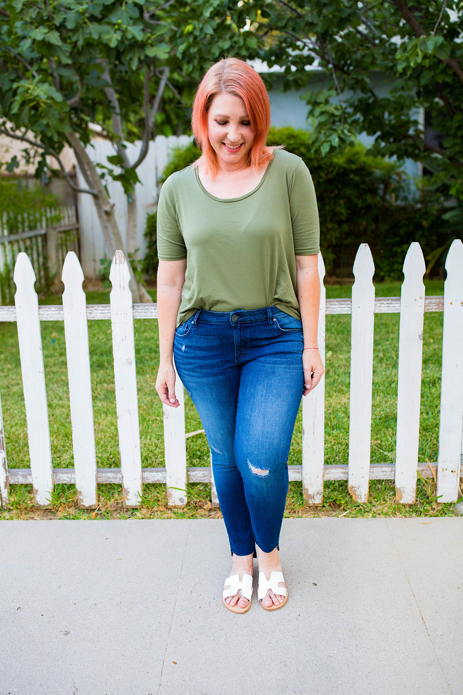 Nordstrom Anniversary Sale 2018: Fall outfits time is HERE, and these Kut from the Kloth frayed jeans are a GREAT price!
