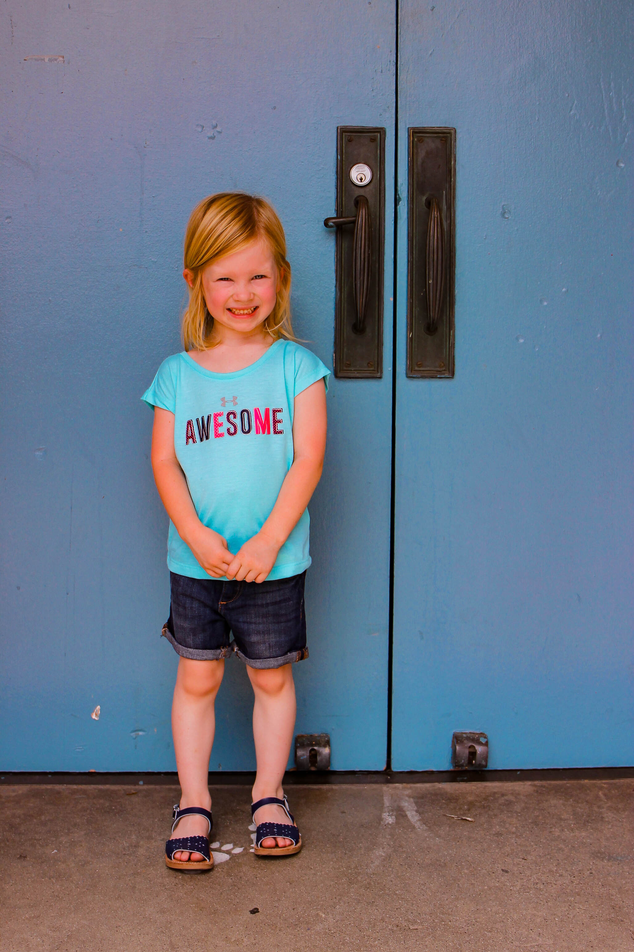 Stitch Fix Kids Review: How cute are these DL1961 Bailee Roll Cuff Shorts?
