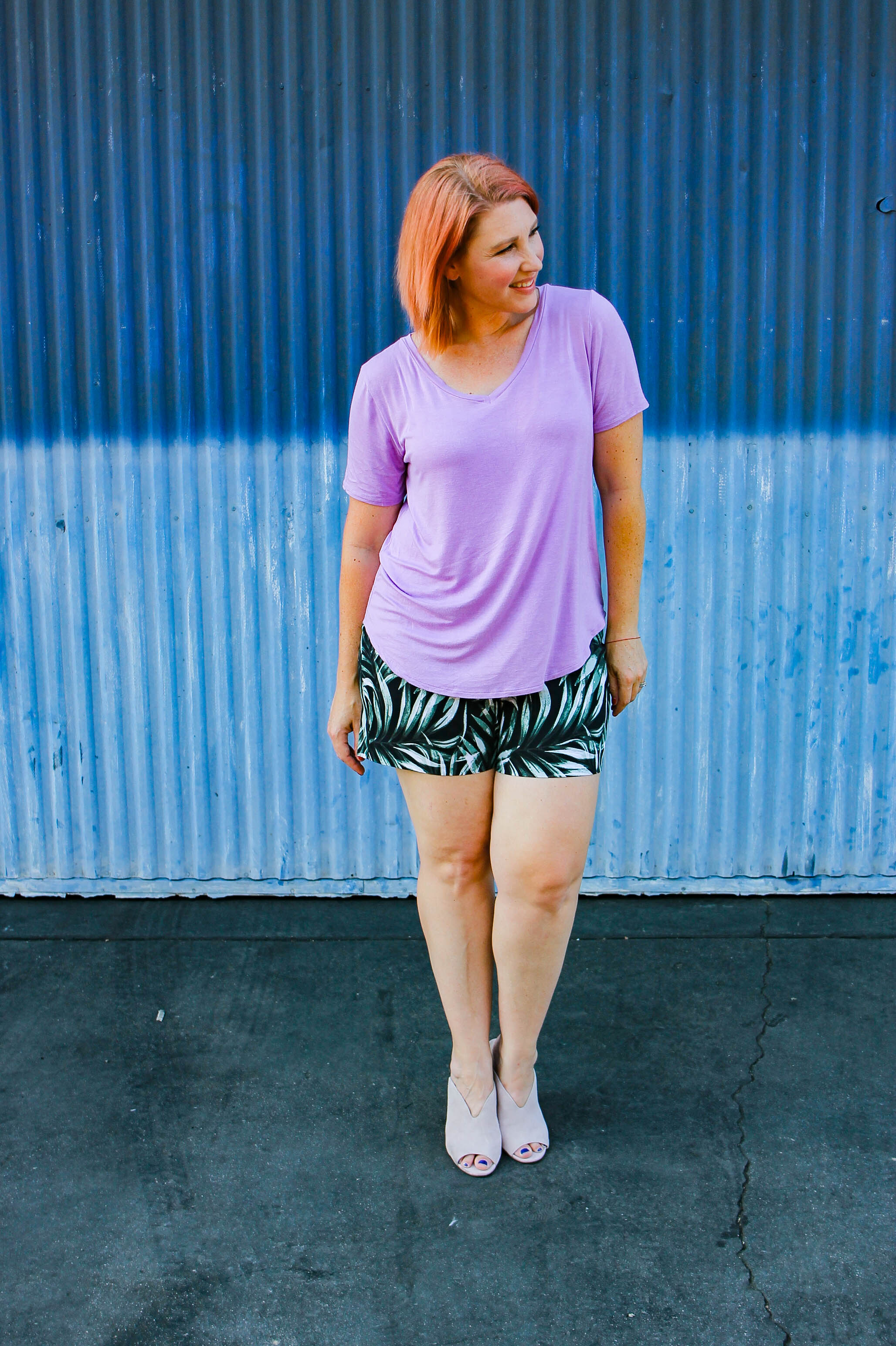 Stitch Fix Review August 2018……what I kept, what I returned and what you should request including these Margaret M Lea Printed Short!