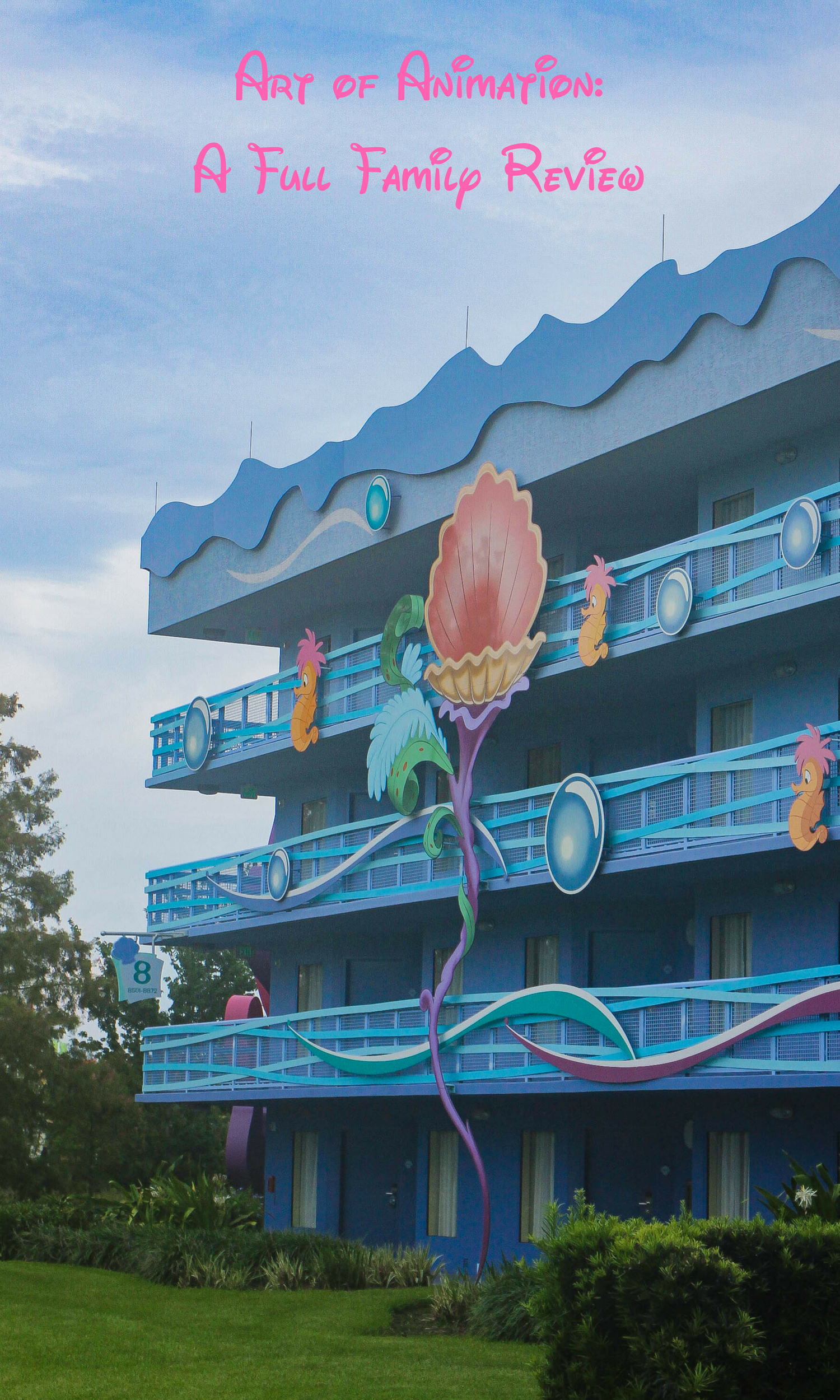 Art of Animation: Looking at Walt Disney World Hotels? Check out this full family review of Art of Animation!