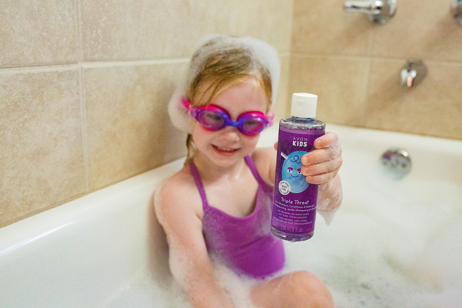 Paraben Free Shampoo: This new shampoo from Avon Kids is AMAZING!